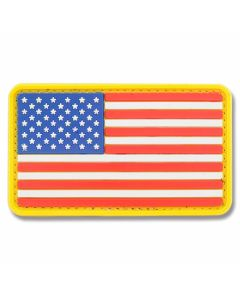 U.S. Flag PVC Morale Patch - Full Color