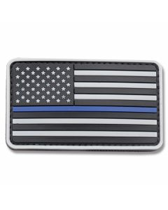U.S. Flag PVC Morale Patch - SWAT Camo