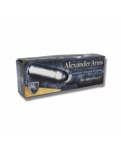 Alexander Arms .50 Beowulf 350 Grains Solid Round Nose 20 Rounds