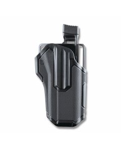 BLACKHAWK! Omnivor Multi-Fit Holster for Right Hand Carry Non Lightbearing Pistols with Rails Model 419000BBR