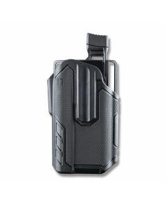 BLACKHAWK! Omnivor Multi-Fit Holster for Left Hand Carry Pistols with Surefire X300 Model 419001BBL