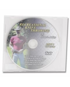Recreational Knife Throwing DVD By John L. Bailey - Part 1