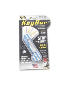 KeyBar Aluminum USA Blue