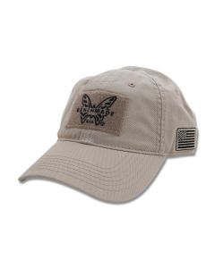 Benchmade Coyote Tan Tactical Hat with Velcro Patch Model 987908F