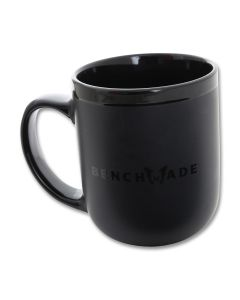 Benchmade Ceramic Coffe Mug Matte Black Model 989133F