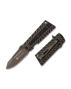 "Browning Black Label 1911 Linerlock 3.625"" with Black and Gray G-10 Handle and Gray Finish 8Cr13MoV Stainless Steel Blade"