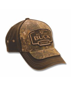 Buck Camo and Suede Construction Hat Model 7763