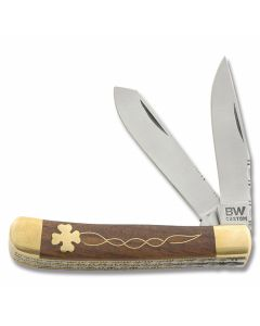 BW Custom Celtic Clover Trapper with Filework