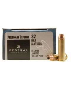 Federal Personal Defense 32 H&R Magnum 85 Grain Jacket Hollow Point 20 Rounds
