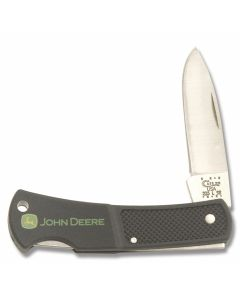 "Case Executive Lockback 3"" with Black Zytel Handles and Tru-Sharp Surgical Steel Plain Edge Blades Model 5877"
