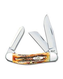 Case 6.5 Bone Stag Sowbelly Tru-Sharp Surgical Steel Blades