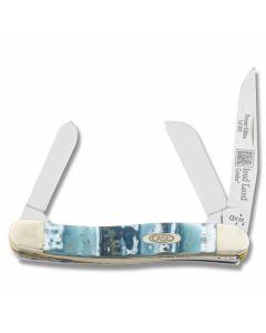 "Case Medium Stockman 3.625"" with Cloud Land Corelon Handles and Tru-Sharp Surgical Steel Plain Edge Blades Model 9318CL"