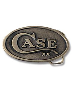 Case Oval Belt Buckle with Brass Finish Model 934 5/CS