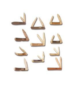 Case Wood Knife Set of 11
