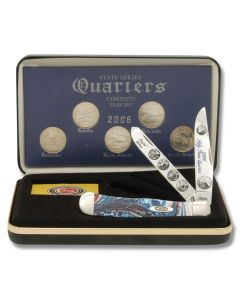 F/Case 2006 State Series Quarters Trapper Set - As Minted