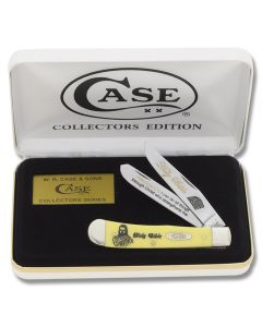 Case Phillipians 4:13 Trapper with Yellow Composition Handle