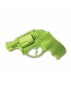 Cold Steel Rubber Ruger LCR Training Pistol with Green Santoprene Rubber Construction Model 92RGC11C