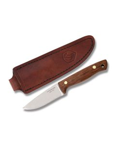 """Condor Tool and Knife Mayflower Fixed Blade Knife with Walnut Handle and Polish Finished 440C Stainless Steel 3"""" Drop Point Blade Model 60039/CTK150-3-4C"""