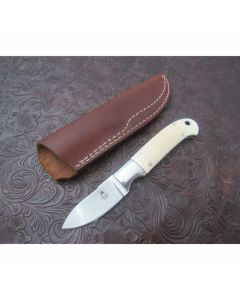 Vintage Tom Mayo Custom Ivory Drop Point Hunter