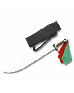 Master Cutlery Oriential Training Sword with Leather Wrapped Handle and Stainless Steel Blade Model 922