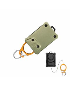 Gerber Defender Compact Tether with Corrosion Resistant Anodized Aluminum Body and Aluminum Carabiner Model 31-003297