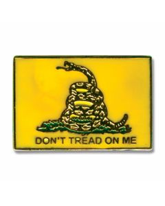 """Don't Tread On Me"" Hat Pin"