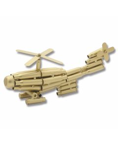 Shell Casing Helicopter Model