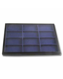 "Hardboard Display with Blue Insert 16-1/4"" x 12"" x 1"""
