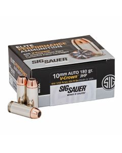 Sig Sauer Elite Performance 10mm 180 Grain Full Metal Jacket 20 Rounds