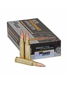 Sig Sauer Elite Performance 308 Winchester 175 Grain Open Tip Match 20 Rounds