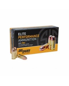 Sig Sauer Elite Performance Ball  9mm Luger 147 Grain Full Metal Jacket 50 Rounds