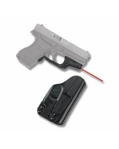 Crimson Trace Laserguard Red Laser for Glock 43 with BT Holster Model LG-443-HBTG