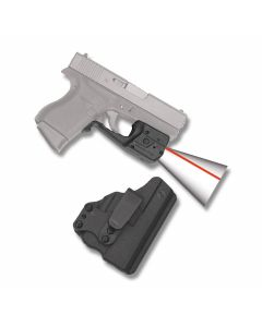 Crimson Trace Laserguard Pro Red Laser for Glock 42/43 with BT Holster Model LL-803-H-BT