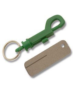 "Eze-Lap 2-1/2"" x 3/4"" Keychain Diamond Stone with Fishhook Groove (Colors Our Choice Only)"