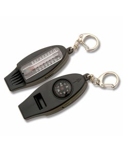 Explorer Compass, Thermometer and Emergency Whistle Tool
