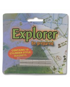Explorer Cylinder Style Knife Display Magnets