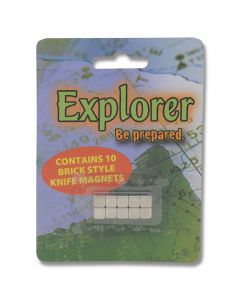 Explorer Brick Style Knife Display Magnets