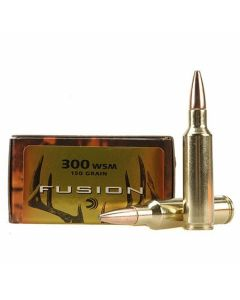 Federal Fusion 300 Win Magnum 150 Grain Bonded Spitzer Boat Tail 20 Rounds