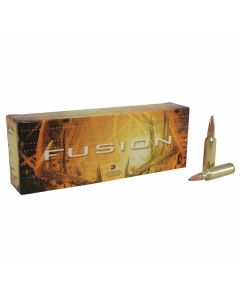 Federal Fusion 300 Win Short Magnum 180 Grain Bonded Spitzer Boat Tail 20 Rounds