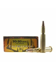 Federal Fusion 30-30 Winchester 150 Grain Bonded Flat Nose 20 Rounds