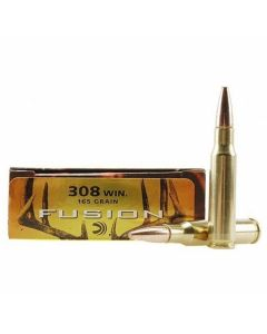 Federal Fusion 308 Winchester 165 Grain Jacketed Soft Point 20 Rounds