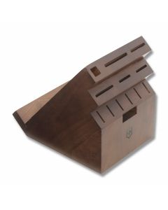Victorinox 13 Slot Swivel Kitchen Block with Hardwood Construction Model 41505US2
