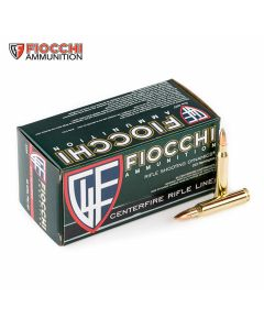 Fiocchi Shooting Dynamics 223 Remington 55 Grain Full Metal Jacket 50 Rounds