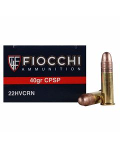 Fiocchi Shooting Dynamics 22 Long Rifle 40 Grain Plated Lead Round Nose 50 Rounds