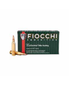 Fiocchi Exacta 243 Winchester 95 Grain Super Shock Tip Flat Base 20 Rounds