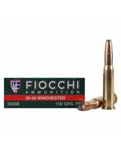 Fiocchi Shooting Dynamics 30-30 Winchester 150 Grain Flat Soft Point 20 Rounds