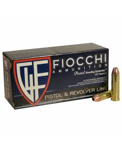 Fiocchi Shooting Dynamics 357 Magnum 158 Grain Jacketed Hollow Point 50 Rounds