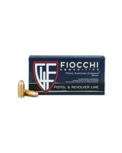 Fiocchi Shooting Dynamics 380 ACP 95 Grain Full Metal Jacket 50 Rounds