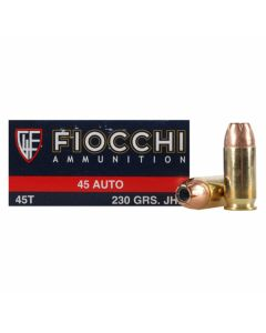 Fiocchi Shooting Dynamics 45 ACP 230 Grain Jacketed Hollow Point 50 Rounds