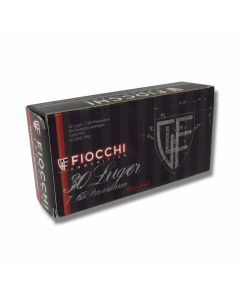 Fiocchi Standard 30 Luger 93 Grain Full Metal Jacket 50 Rounds